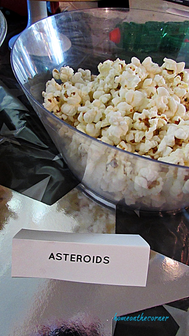 Disneyland Tomorrowland Asteroids Popcorn