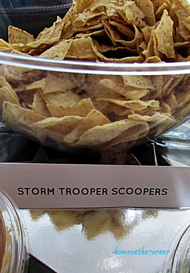 Disneyland Tomorrowland Storm Trooper Scoopers