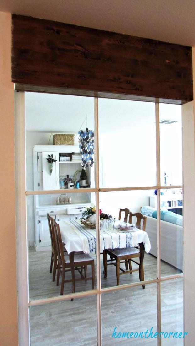 new living room ceiling beam