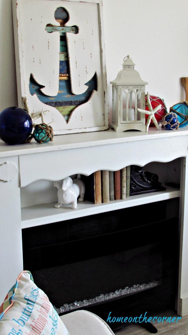 new living room coastal mantle