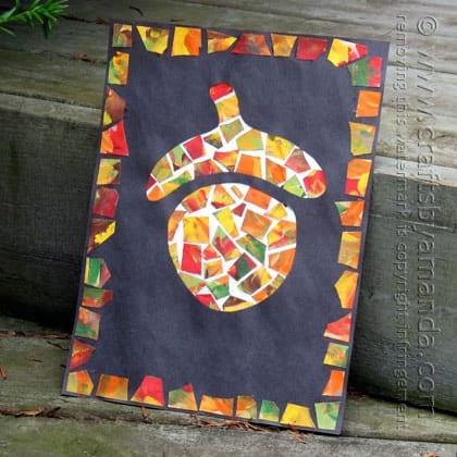 acorn mosaic