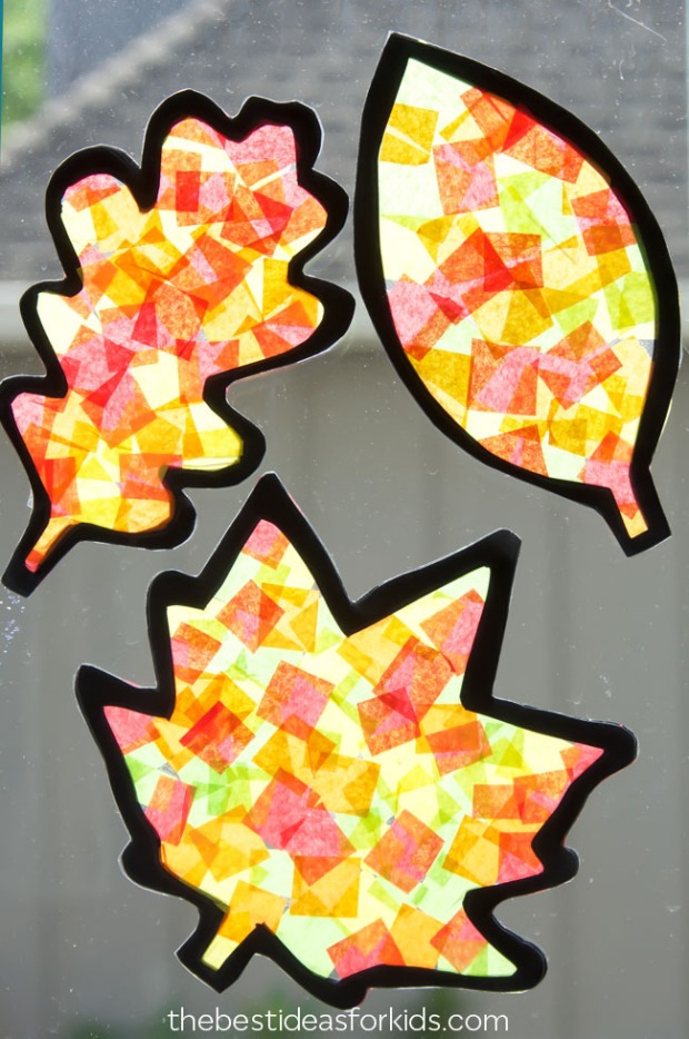 Fall-Leaf-Suncatchers