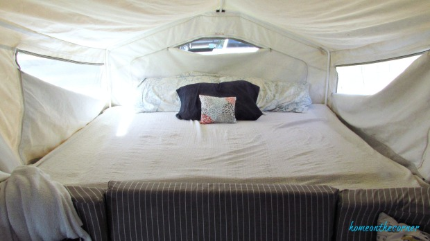 rv makeover bed