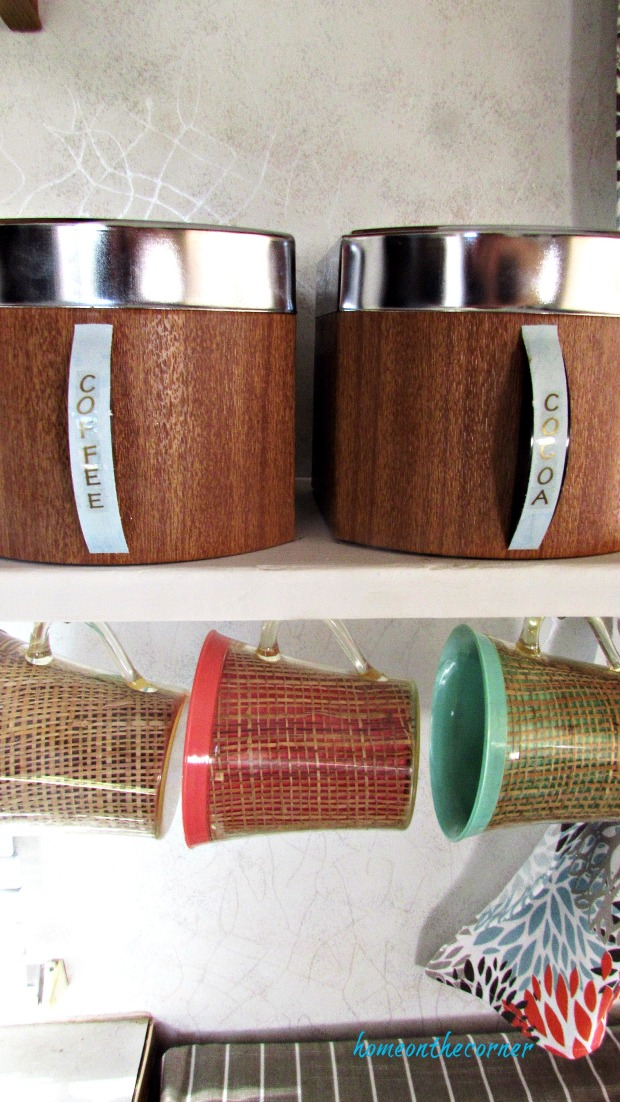 rv makeover canisters and mugs