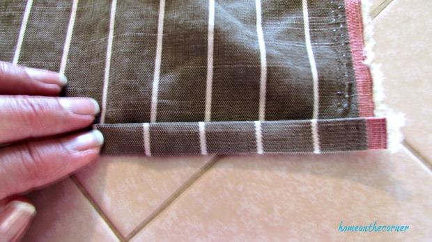 rv makeover set cushions double hem