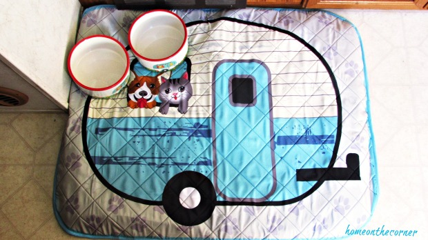 rv makeover trailer dog bed