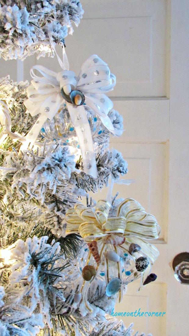 christmas ornament exchange 2 ornaments