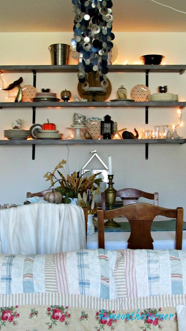 fall living room dining room 2019