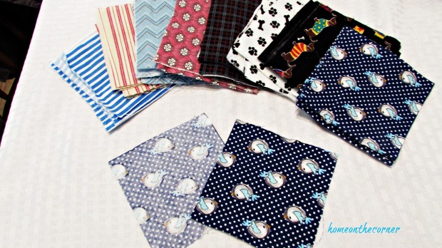 hand warmer squares