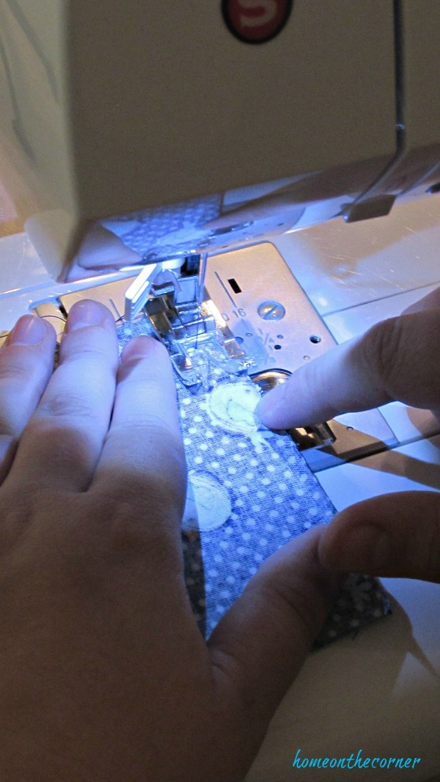hand warmers sewing seam