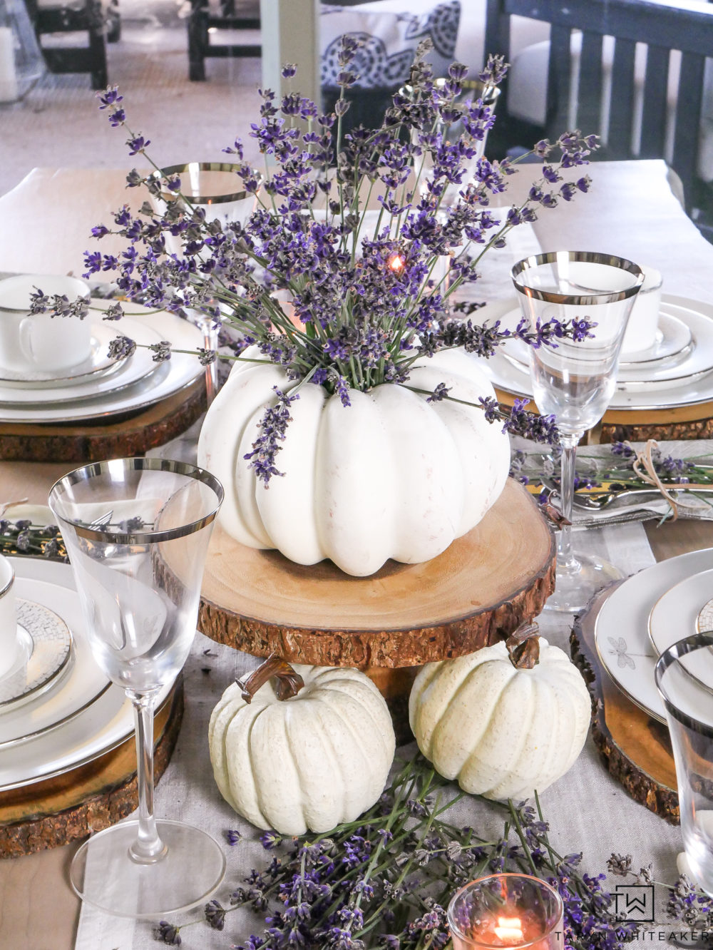 Lavendar-Fall-Table