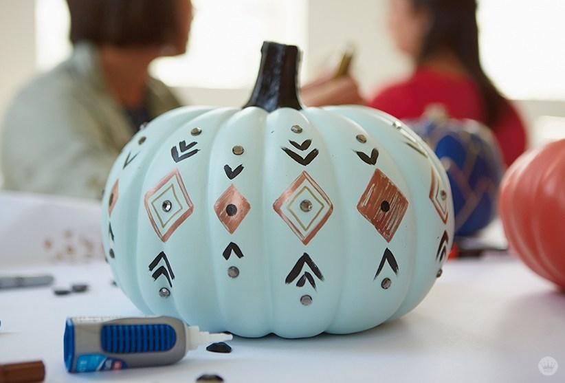 Matte-Pumpkin-Painting
