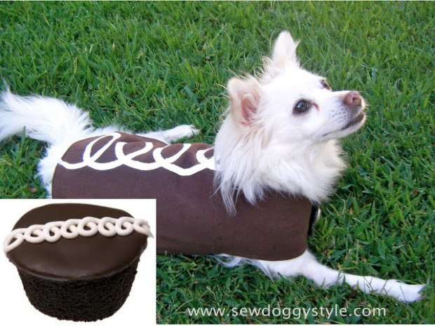 hostess cupcake dog outfit