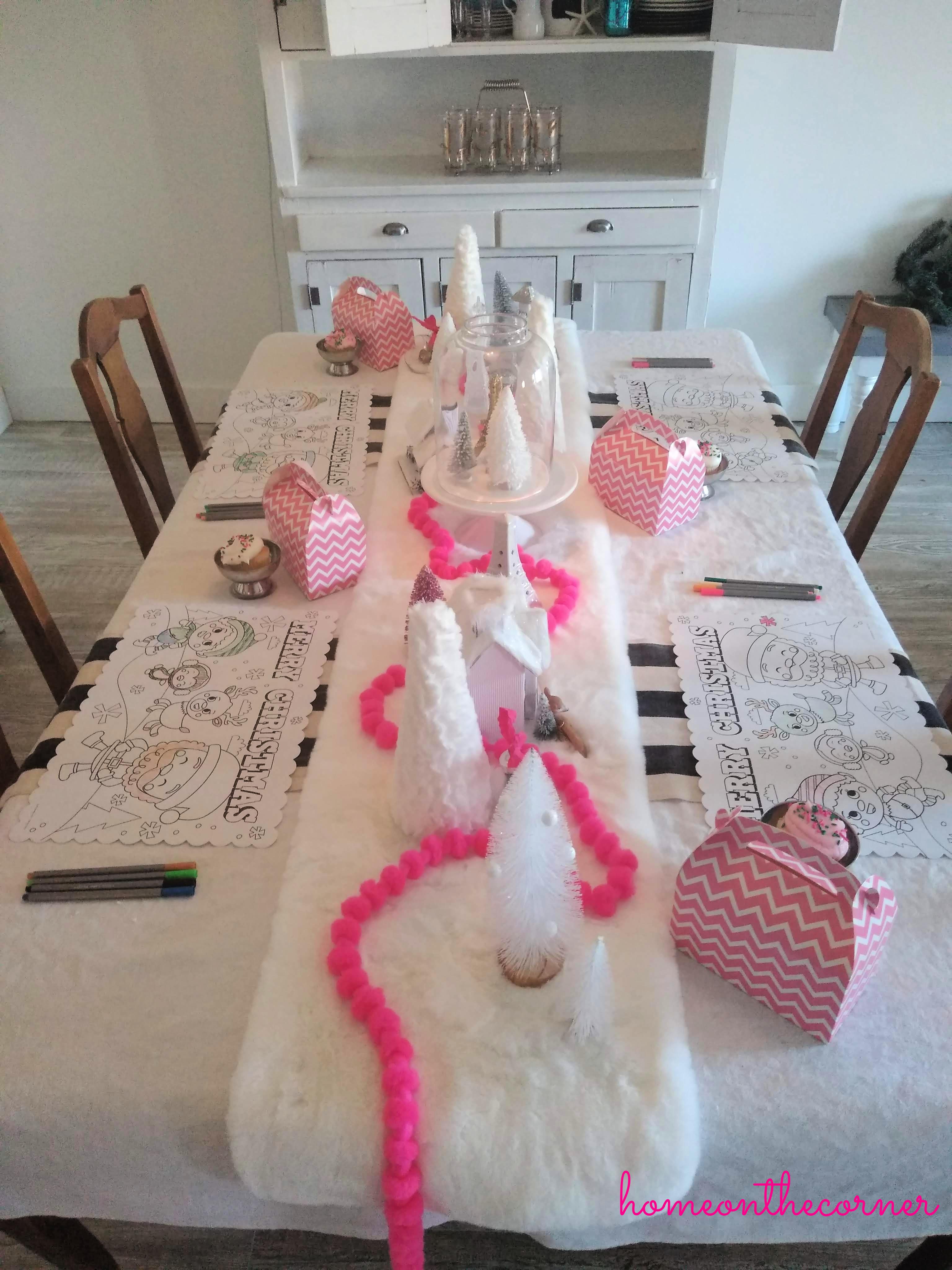 Paris Kids Table