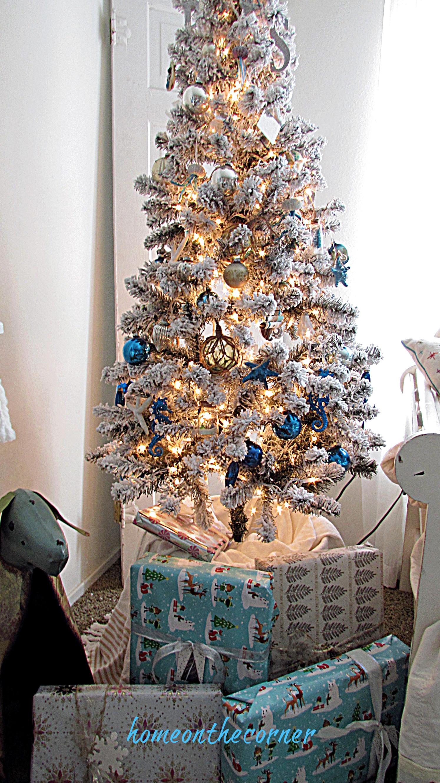 christmas living room christmas tree