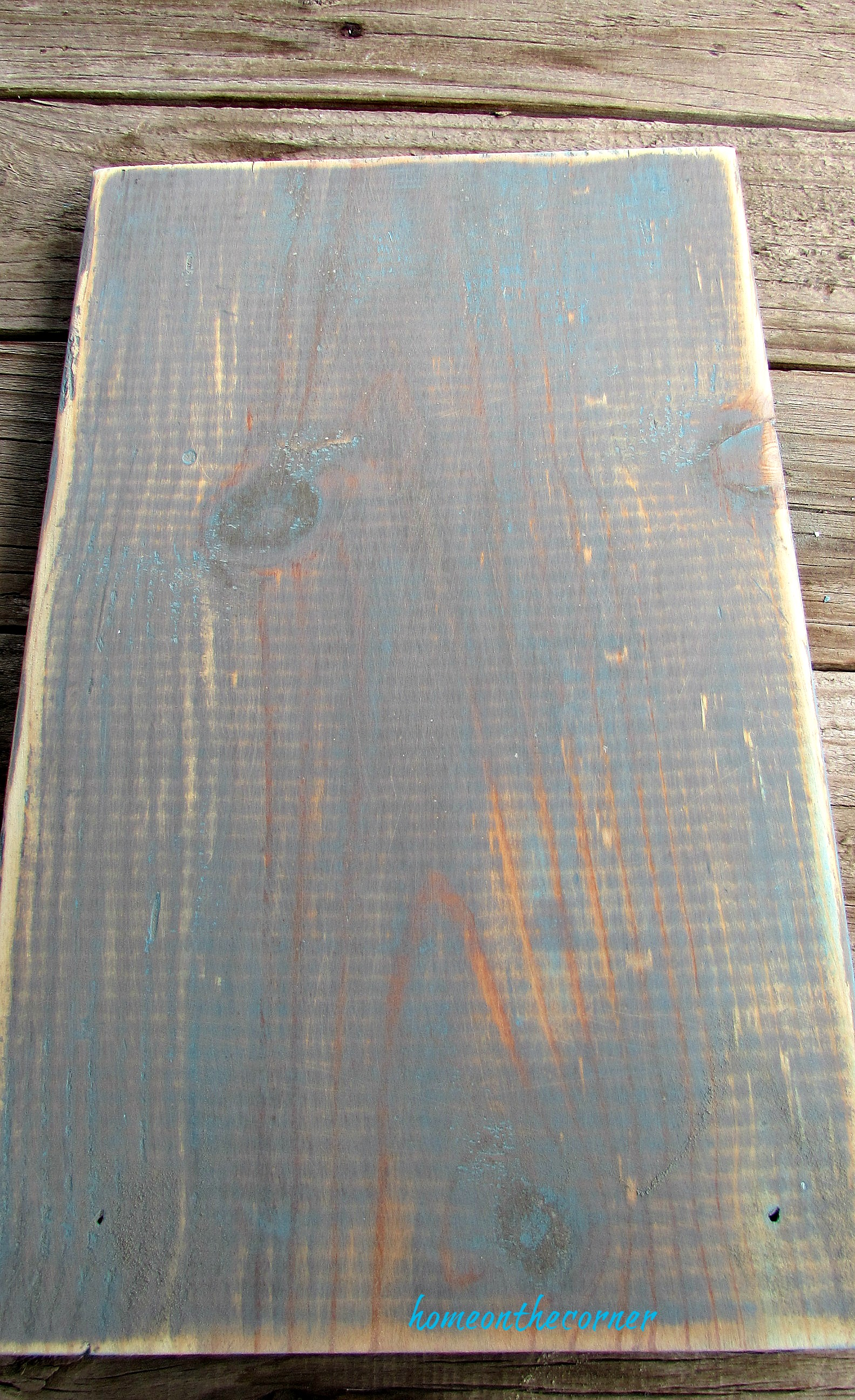 recycled hardware sanded board