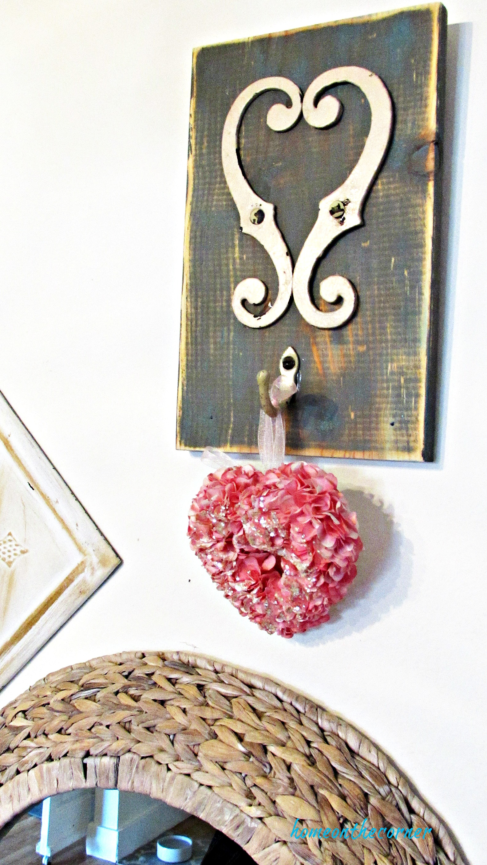 recycled hardware valentine metal heart
